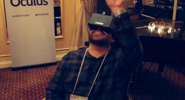 Oculus Rift at CES