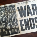 World War II newspaper