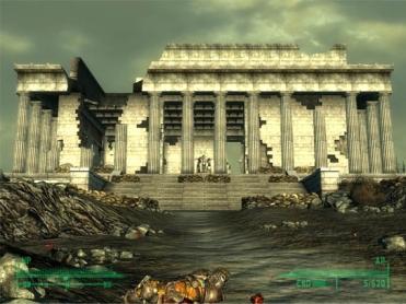 Fallout 3 Lincoln Memorial