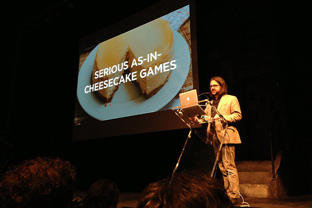 Ian Bogost at Games for Change 2013