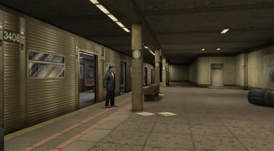 Max Payne Subway Level