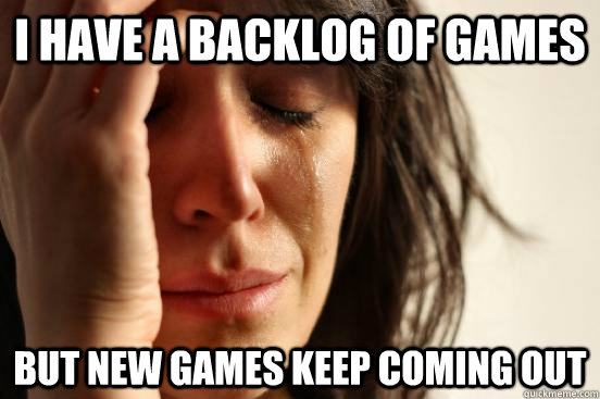 Backlog new games
