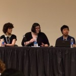 Panelists at the 2013 Different Games Conference in New York. (Source: Polygon)