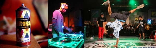 Graffiti, DJs, rap music, breakdancing - all are major elements of modern culture that spread from Hip Hop.