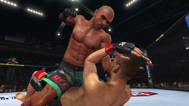 Screenshot: UFC Undisputed 2010