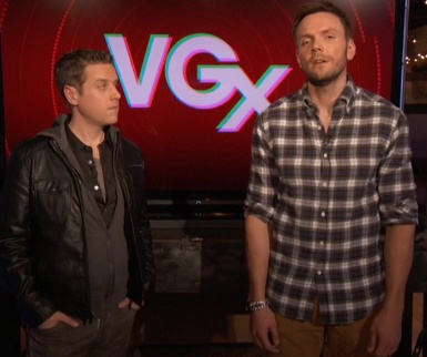 Geoff Keighley and Joel McHale host the VGX awards.