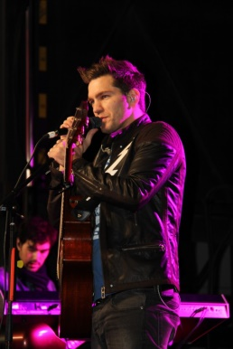 Andy Grammer in performance.
